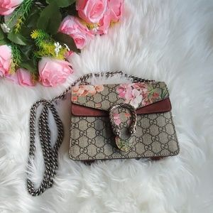 Authentic Dionysus GG Blooms mini bag